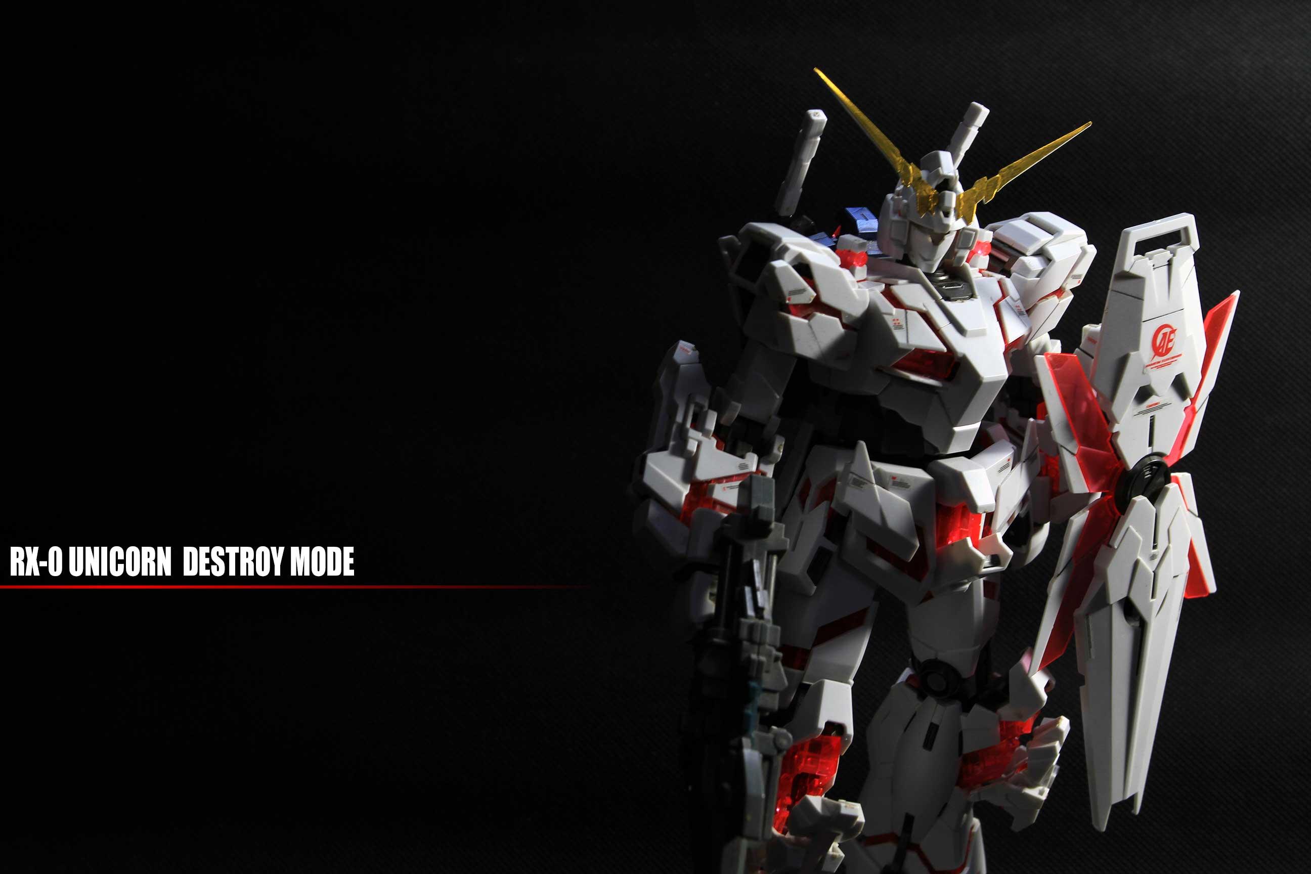 MG RX-0 UNICORN 万代独角兽 老物新拍