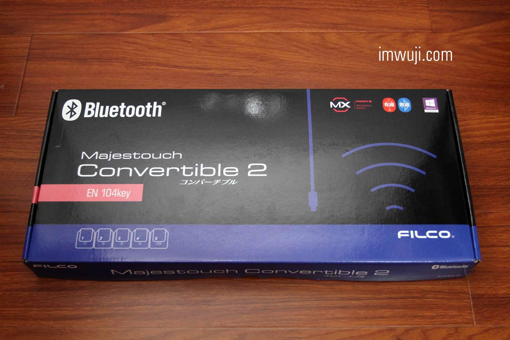 FILCO 斐尔可 双模圣手2代青轴机械键盘 开箱